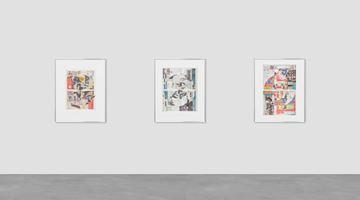 Contemporary art exhibition, Walead Beshty, Foreign Correspondence (October 1, 2012 – January 14, 2021) at Galerie Eva Presenhuber, Waldmannstrasse, Zürich, Zurich