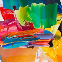 After De Kooning No.7 by Seoul Kim contemporary artwork painting