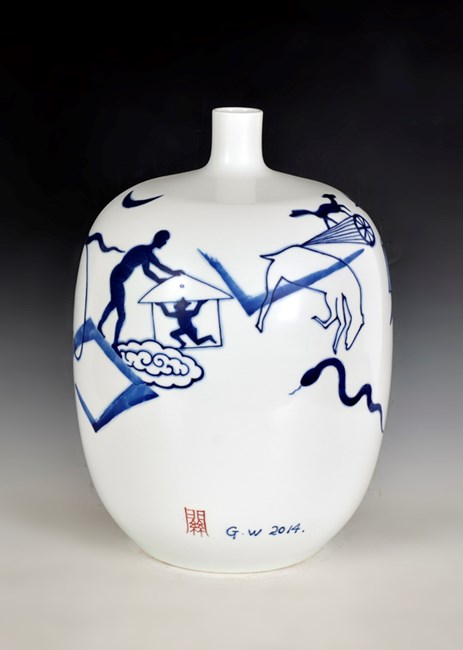 Extraordinary World No.10 by Guan Wei contemporary artwork