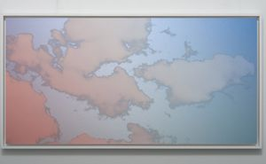 Unkai (Sea of clouds) Bolinas March 7 2021 7:05 PM by Miya Ando contemporary artwork painting, works on paper, sculpture, drawing