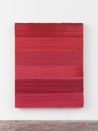 Untitled (Ruby Lake/Ideal Rose) by Jason Martin contemporary artwork painting