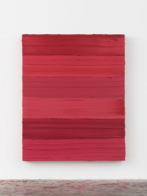 Untitled (Ruby Lake/Ideal Rose) by Jason Martin contemporary artwork