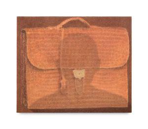 A bag by Johnny Izatt-Lowry contemporary artwork