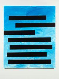 Cranes in the Sky (Solange) by Tariku Shiferaw contemporary artwork painting
