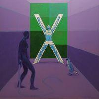 La chambre Excel de la Racoon Academy by Guillaume Pinard contemporary artwork painting