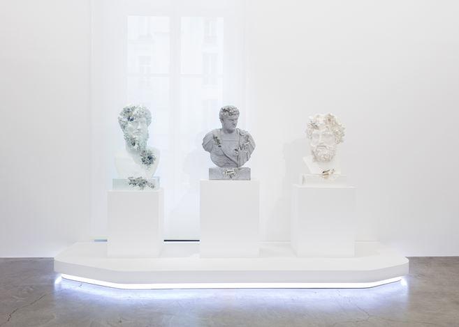 Exhibition view: Daniel Arsham, Paris,3020, Perrotin, Paris (11 January–21 March 2020). © Courtesy the artist and Perrotin.Photo: Claire Dorn.