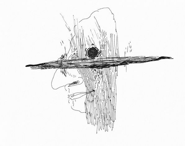 Paul Maheke,Vanille Bleue III (2021). Digital drawing printed on paper. 150 x 118 cm. Courtesy Goodman Gallery.