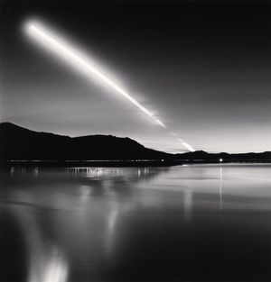 Moon Set, Lake Campotosto by Michael Kenna contemporary artwork