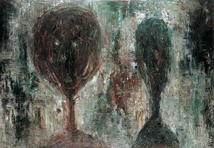 Two Portraits No.2 by Mao Xuhui contemporary artwork