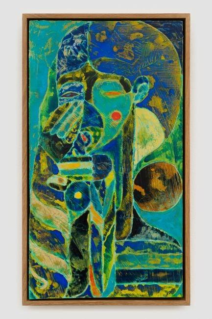 dea madonna (hydra in twilight) by Alexander Tovborg contemporary artwork