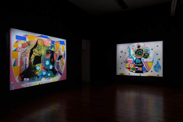 Exhibition view: Gareth Sansom, It's Now or Never, Roslyn Oxley9 Gallery, Sydney (9–31 August 2019). Courtesy Roslyn Oxley9 Gallery. Photo: Luis Power.