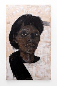 Ngikhathele. Ngicela ukhulume into ecacile by Luyanda Zindela contemporary artwork painting, drawing
