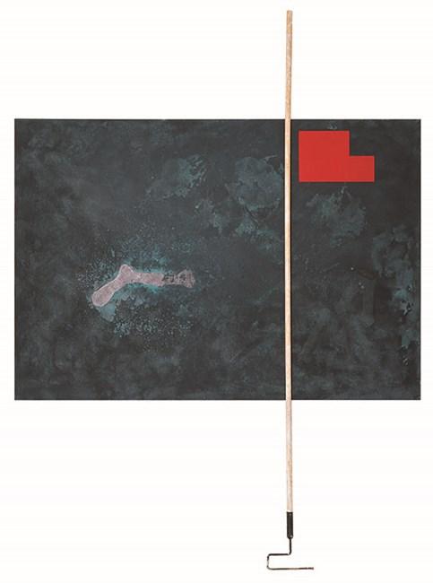 O Homem que Anda by Antonio Dias contemporary artwork
