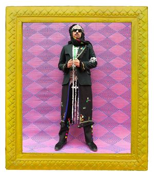 Amine Stylin' by Hassan Hajjaj contemporary artwork