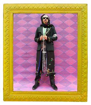 Amine Stylin' by Hassan Hajjaj contemporary artwork