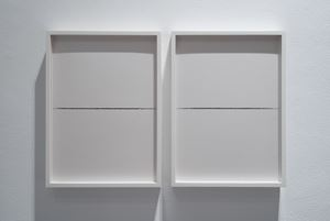 Khalil Gibran (diptych) by Nicène Kossentini contemporary artwork