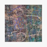 Trace (6) by Le Trieu Dien contemporary artwork painting