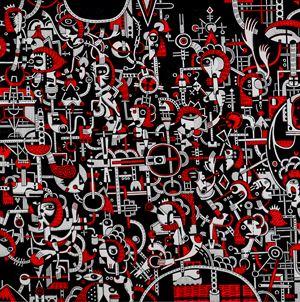 Alcheringa Variations IV by Nisky Yu contemporary artwork