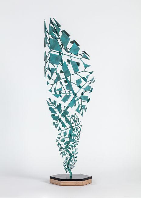 Fracture (B14C25) by Conrad Shawcross contemporary artwork