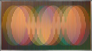 Physichromie Panam 232 by Carlos Cruz-Diez contemporary artwork