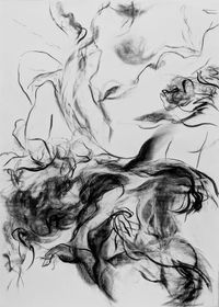 No. 57, Undone by Emily Wang contemporary artwork works on paper, drawing