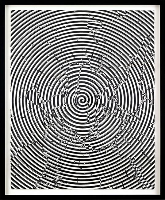 Spiral and Splatter #2 by Julian Hoeber contemporary artwork