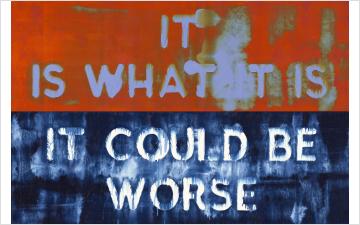 Mel Bochner: Exasperations