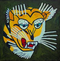 Tiger Force Member #1 by Farhad Farzaliyev contemporary artwork painting