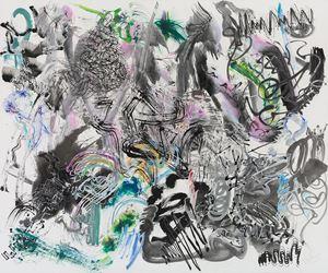 500 Brushstrokes #31 五百笔 #31 by Wu Jian'an contemporary artwork