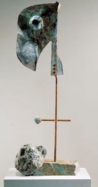 Figure by Joan Miró contemporary artwork sculpture