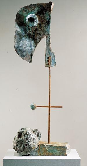 Figure by Joan Miró contemporary artwork