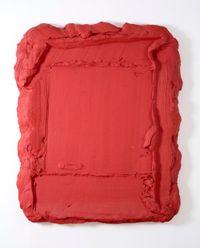 Rode Rouge by Bram Bogart contemporary artwork mixed media
