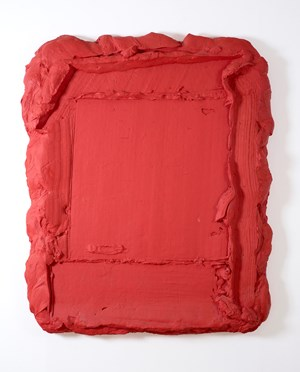 Rode Rouge by Bram Bogart contemporary artwork