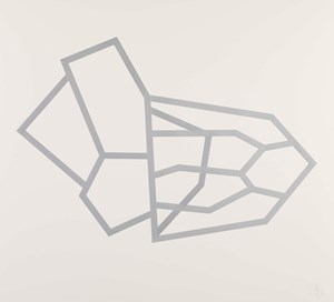 Bamako (Silver 36) by Richard Deacon contemporary artwork