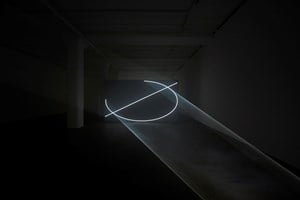 Split Second by Anthony McCall contemporary artwork