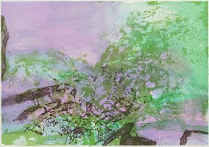 Untitled 《無題》 by Zao Wou-Ki contemporary artwork