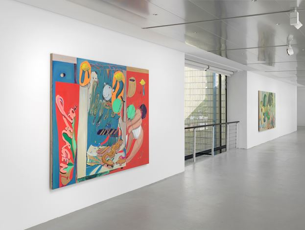 Exhibition view: Stefanie Heinze, Odd Glove, Capitain Petzel, Berlin (26 April–8 June 2019). Courtesy the artist and Capitain Petzel, Berlin. Photo: Jens Ziehe.