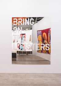untitled 2018 (bring on the lobsters) by Rirkrit Tiravanija contemporary artwork mixed media