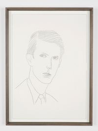 Anthony Blunt by Lucy McKenzie contemporary artwork drawing