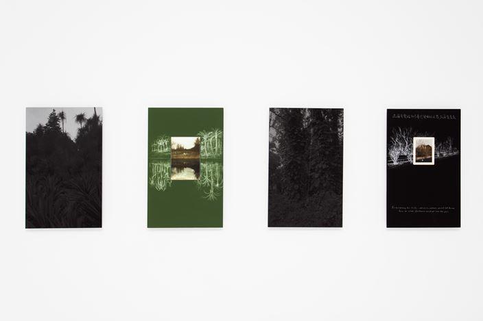 Exhibition view: Qin Jin, Chen, Dandizi,Fleeting Memories and Written Notes, Capsule Shanghai (23 December–23 February 2019). Courtesy Capsule Shanghai.