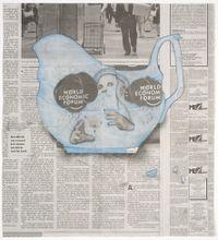 Wedgwood Gravy Boat by Christian Holstad contemporary artwork mixed media