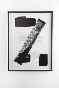 Pre-everything; Stabs at academia with painters tools (Page One hundred and Ninety - Three) by Ryan Gander contemporary artwork mixed media