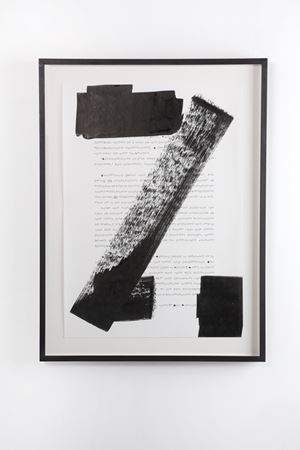 Pre-everything; Stabs at academia with painters tools (Page One hundred and Ninety - Three) by Ryan Gander contemporary artwork