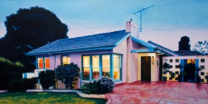 Corner Family Home by David Wadelton contemporary artwork
