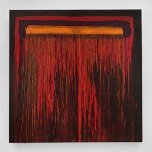 Considering Rothko by Pat Steir contemporary artwork
