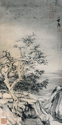 Frost Falls by Zheng Li contemporary artwork works on paper