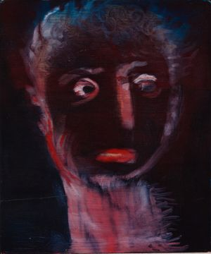 das genaue hinschauen by Miriam Cahn contemporary artwork painting
