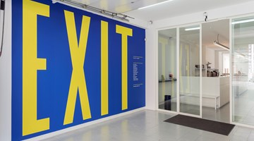 Contemporary art exhibition, Curated by Adam Carr, E X I T at rodolphe janssen, Brussels