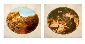 Plantation (Diptych No. 8) by Tracey Moffatt contemporary artwork