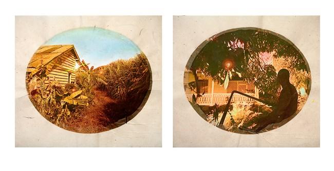 Plantation (Diptych No. 8) by Tracey Moffatt contemporary artwork